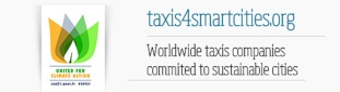 Logo taxis for smart cities